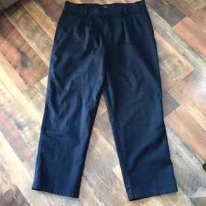 Dockers men's navy blue dress pants slacks 36x30